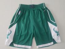 Milwaukee Bucks Green Basketball Club Shorts