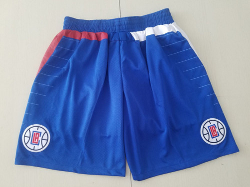 Los Angeles Clippers Blue Basketball Club Shorts