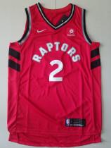 Toronto Raptors Kawhi Leonard 2 Red Retro Classics Basketball Jerseys