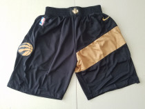 Toronto Raptors Black City Edition Basketball Club Shorts