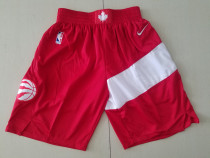 Toronto Raptors Red Basketball Club Shorts