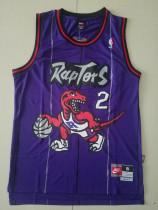 Toronto Raptors Kawhi Leonard 2 Purple Retro Classics Basketball Jerseys