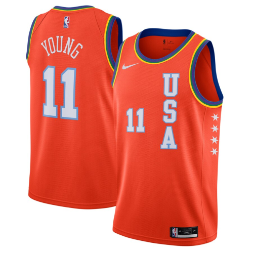 Men's Trae Young 2020 RISING Rising Stars All Star Game Jerseys