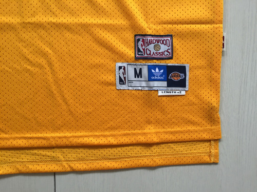 Kobe Bryant 24 Yellow Throwback Classics Basketball Jerseys