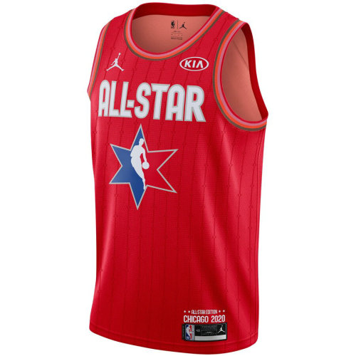 Men's Russell Westbrook Red 2020 All Star Game Jersey