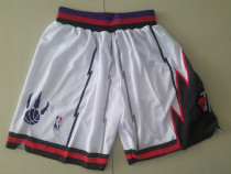 Toronto Raptors White Basketball Club Shorts