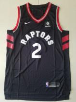 Toronto Raptors Kawhi Leonard 2 Black Retro Classics Basketball Jerseys