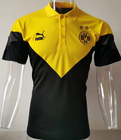 Borussia Dortmund 20/21 Training Polo - Yellow