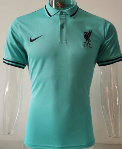 Liverpool 20/21 Polo - Blue