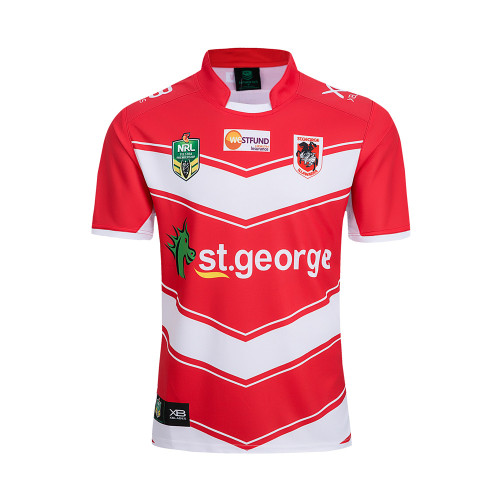 ST. George Illawarra Dragons 2018 Men's Away Rugby Jersey