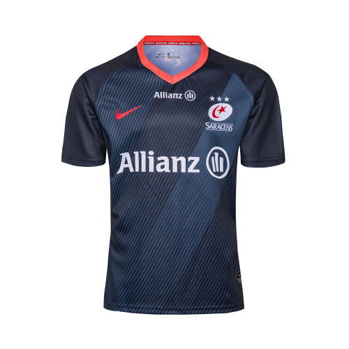 Saracens 19/20 Mens Home Rugby Jersey