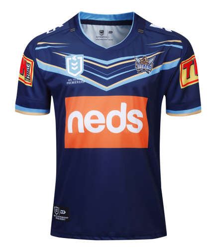 Gold Coast Titans 2019 Men's Home Rugby Jersey
