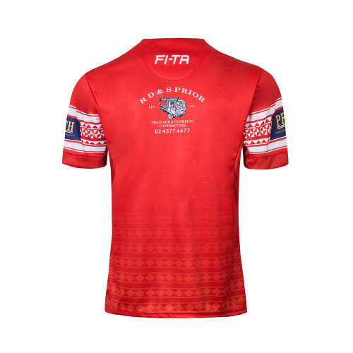 Tonga 2018 Men's Pacific Test Rugby Jersey