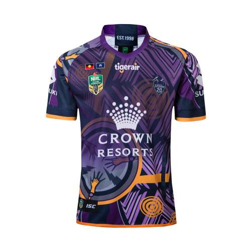Melbourne Storm 2018 Men's Indigenous Rugby Jersey