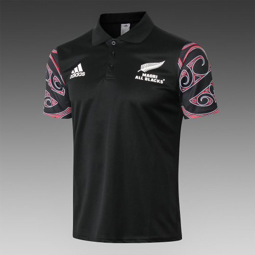 Maori All Blacks Rugby Polo Shirt