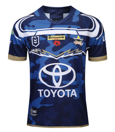 North Queensland Cowboys 2019 Men's Rugby Defence Jersey