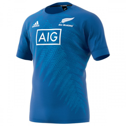 All Blacks 2019 Mens Rugby World Cup Training Jersey