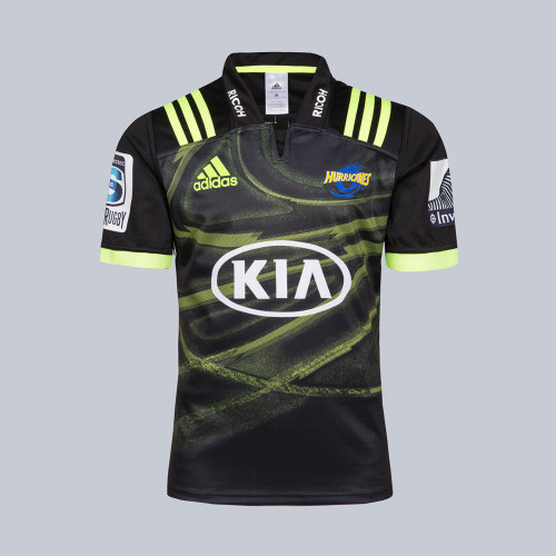 Hurricanes 2018 Men's Away Super Rugby Jersey
