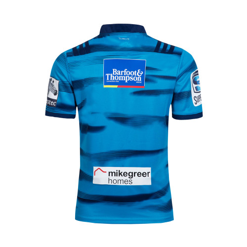 Blues 2018 Men's Super Rugby Home Jersey