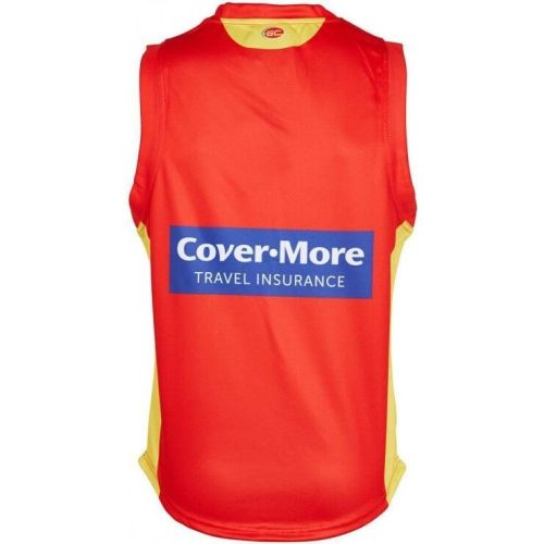 Gold Coast Suns 2019 Men's Home Guernsey