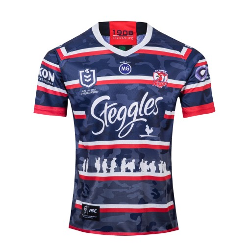 Sydney Roosters 2019 Men's Anzac Rugby Jersey