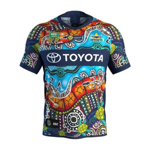 North Queensland Cowboys 2018 Rugby Indigenous Jersey