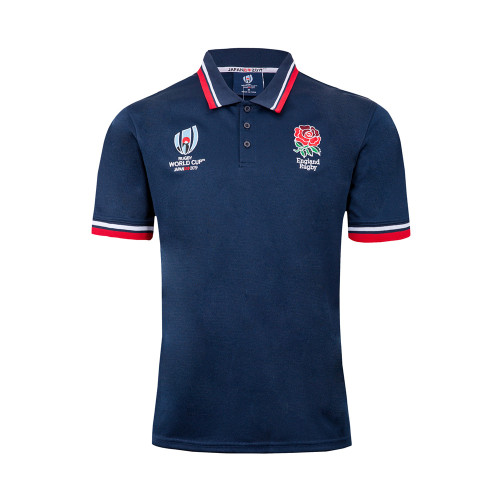 England 2019 Rugby World Cup Supporter Polo Shirt