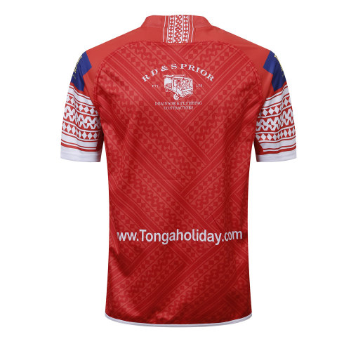 Tonga 2018/19 Home S/S Rugby League Jersey