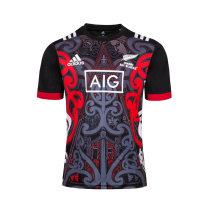 Maori All Blacks Performance Training Rugby Jersey