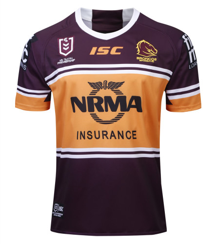 Brisbane Broncos 2019 Men's Home Rugby Jersey