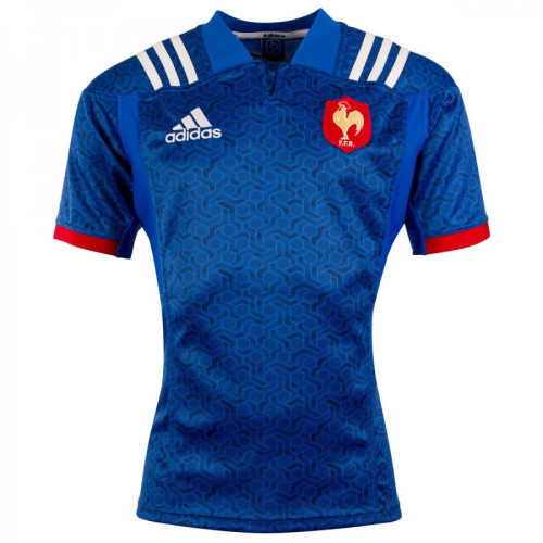France 2018 Men's Home Rugby Jersey