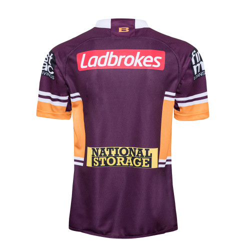 Brisbane Broncos 2020 Men's Home Rugby Jersey