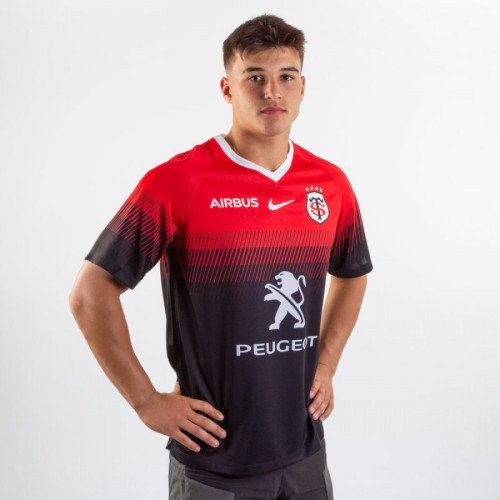 Toulouse 2019/20 Men's Home Rugby Jersey