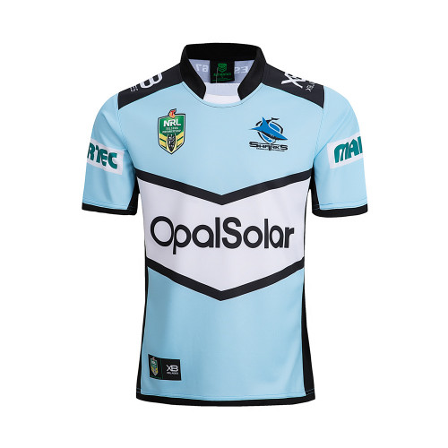 Cronulla Sutherland Sharks 2018 Men's Home Rugby Jersey