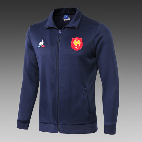FRANCE 2018/19 PRESENTATION FULL ZIP RUGBY JACKET