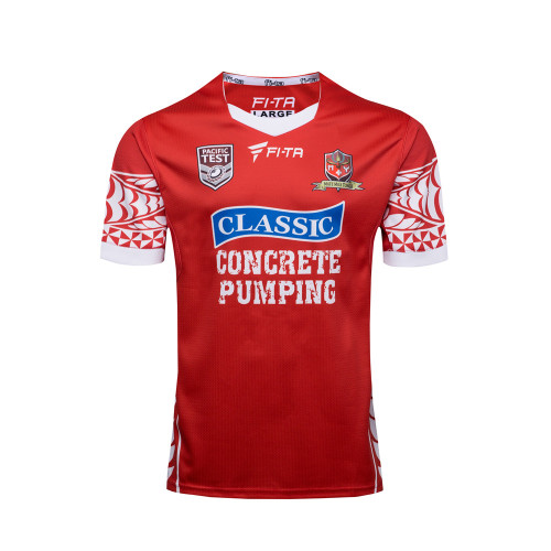 Tonga 2017 Men's Rugby Home Jersey