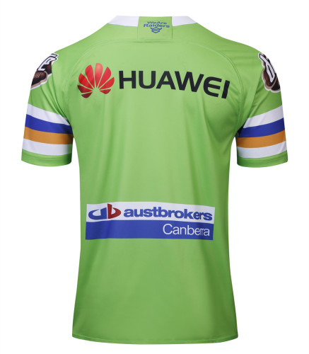 Canberra Raiders 2019 Men's Home Rugby Jersey