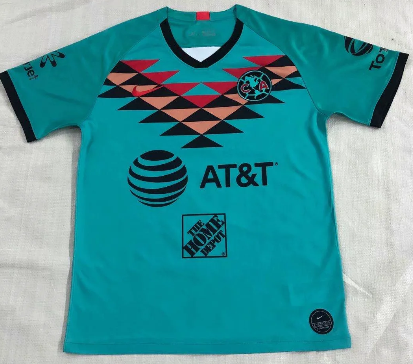 Thai Version Club America 19/20 Third Soccer Jersey