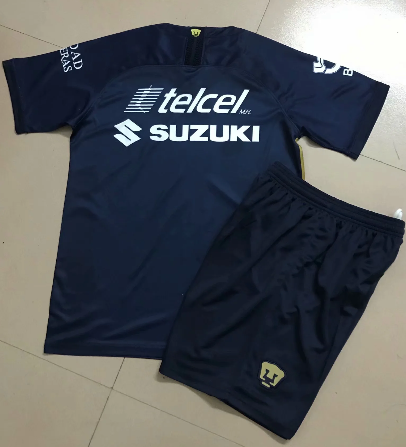 Pumas UNAM 19/20 Kids Third Soccer Jersey and Short Kit