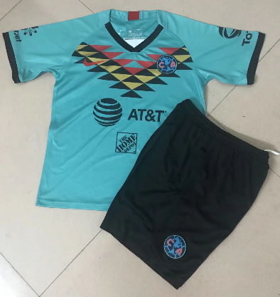Club America 19/20 Third Soccer Jersey and Short Kit