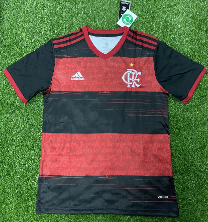 Thai Version Flamengo 20/21 Home Soccer Jersey