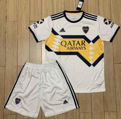 Boca Juniors 20/21 Away Soccer Jersey and Short Kit