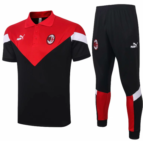 AC Milan 19/20 Polo and Pants - #C400