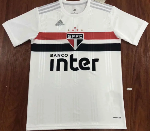 Thai version Sao Paulo 20/21 Home soccer jersey
