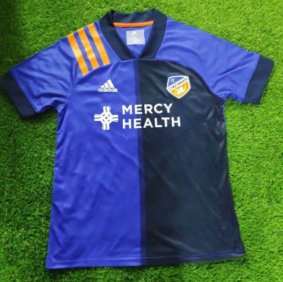 Thai Version Cincinnati 20/21 Home Soccer Jersey