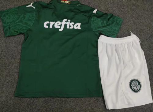 Palmeiras 20/21 Kids Home Soccer Jersey and Short Kit