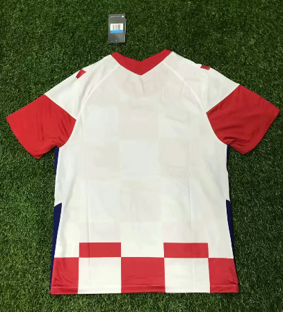 Thai Version Croatia 2020 Home Soccer Jersey