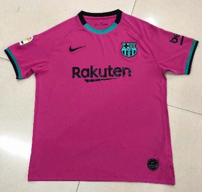 Thai Version Barcelona 20/21 Third Soccer Jersey