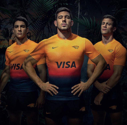 Jaguares 2020 Men's Away Rugby Jersey