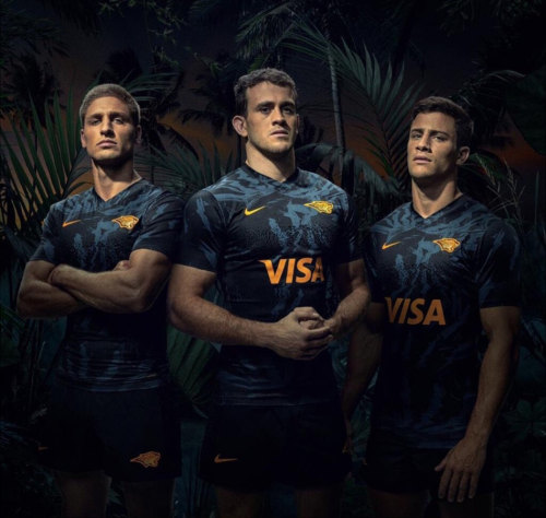 Jaguares 2020 Men's Home Rugby Jersey